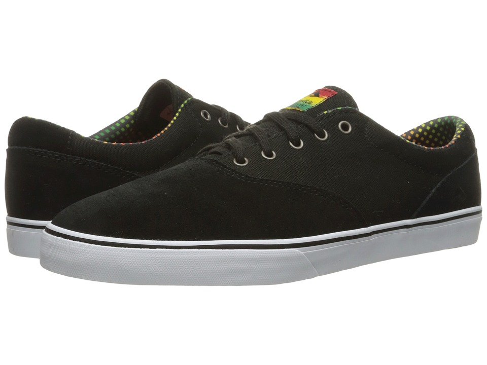 Emerica The Provost Slim Vulc (Black/White/Green) Men