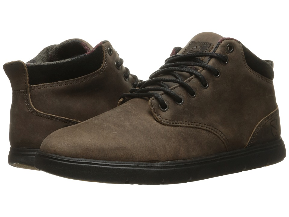 Emerica Wino Cruiser Hi LT X Eswic (Brown/Black) Men