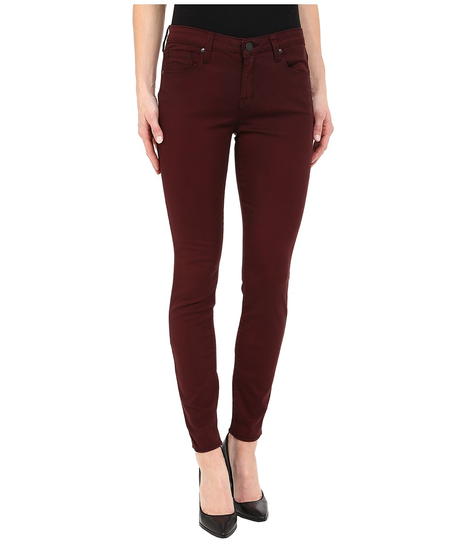Parker Smith Ava Skinny Jeans in Dark Cherry Dark Cherry Womens Jeans