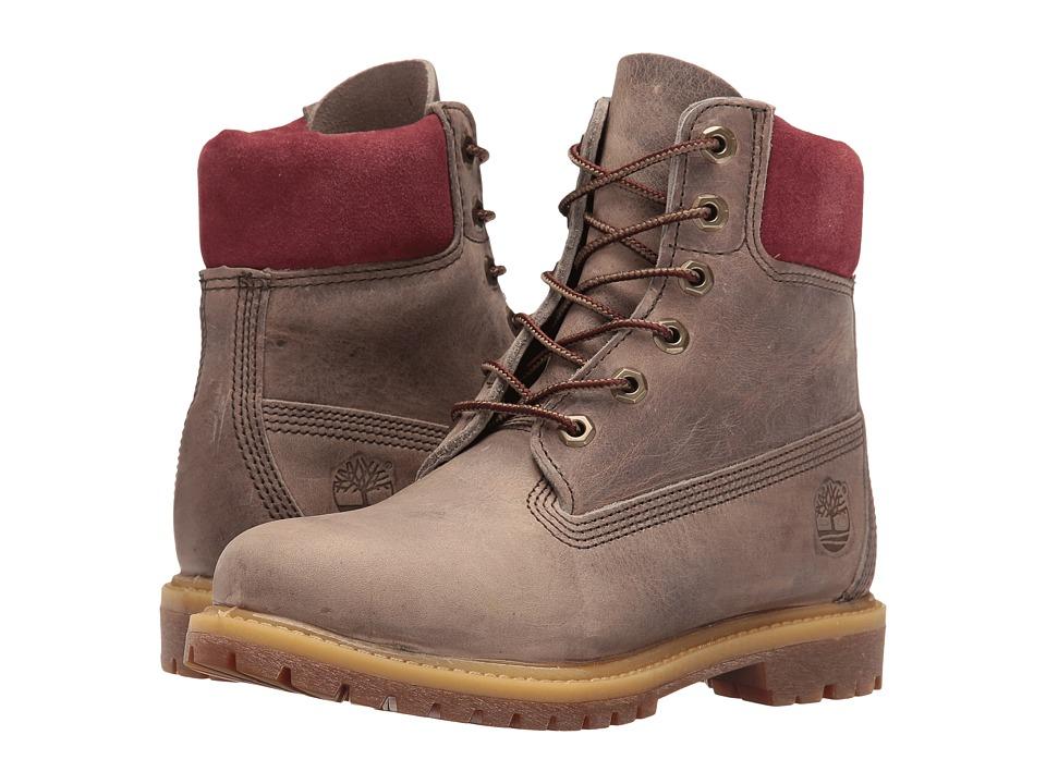 Timberland - 6 Premium Boot (Medium Grey Nubuck) Women
