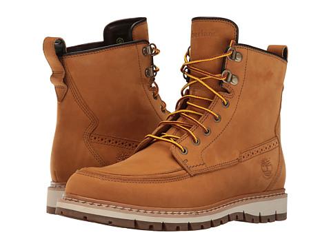 Timberland Britton Hill Waterproof Moc Toe Boot - Wheat Nubuck
