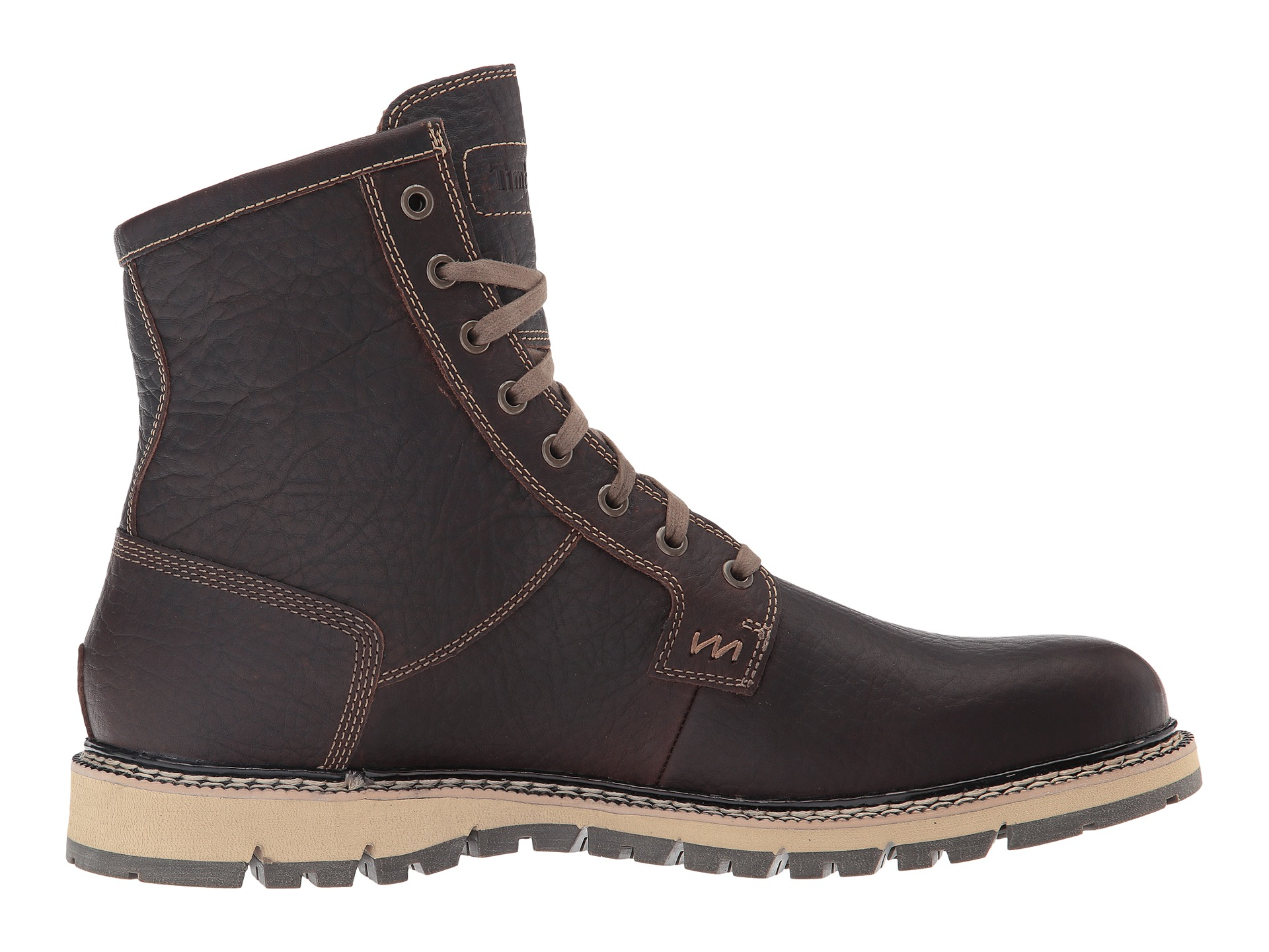 timberland britton hill waterproof plain toe boot dark. Black Bedroom Furniture Sets. Home Design Ideas