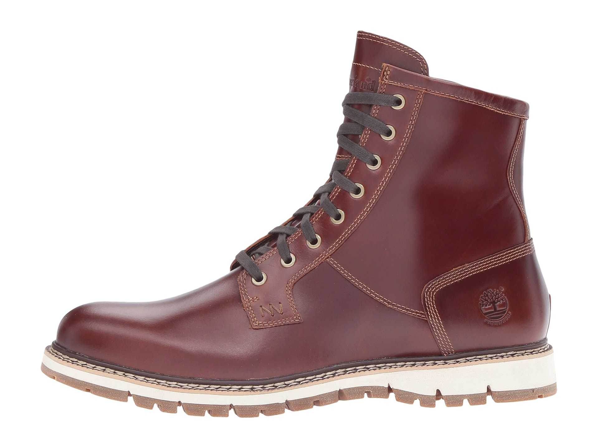 timberland britton hill waterproof plain toe boot zappos. Black Bedroom Furniture Sets. Home Design Ideas