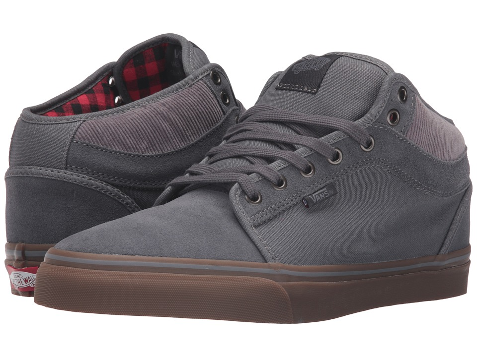 Vans - Chukka Mid Top ((Buffalo Plaid) Tornado/Gum) Men