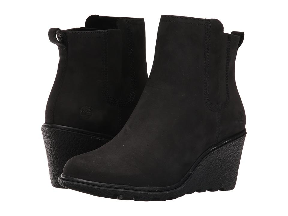 Timberland - Amston Chelsea Boot (Black Nubuck) Women