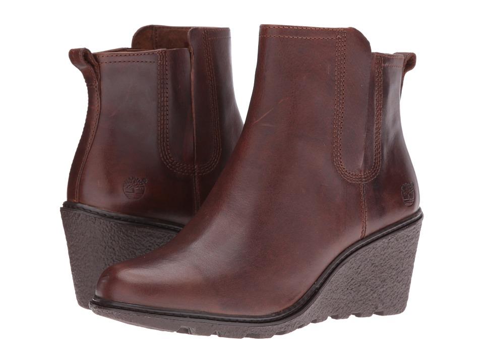 Timberland - Amston Chelsea Boot (Medium Brown Full Grain) Women