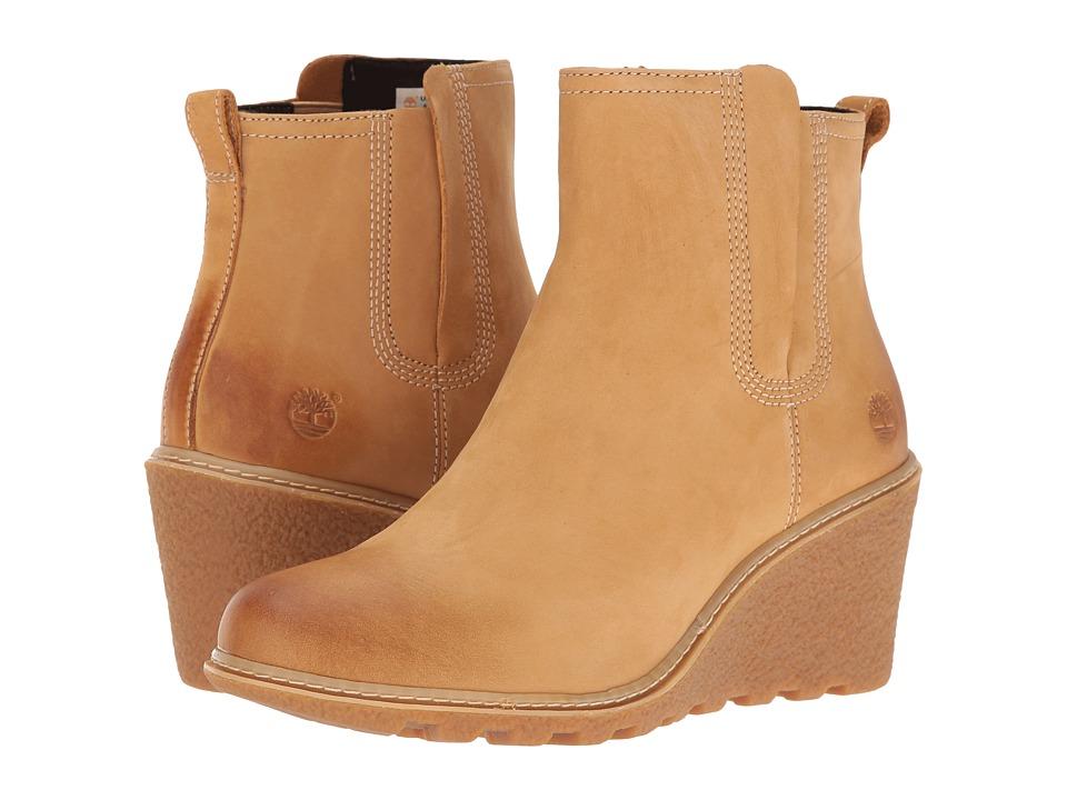 Timberland - Amston Chelsea Boot (Wheat Nubuck) Women