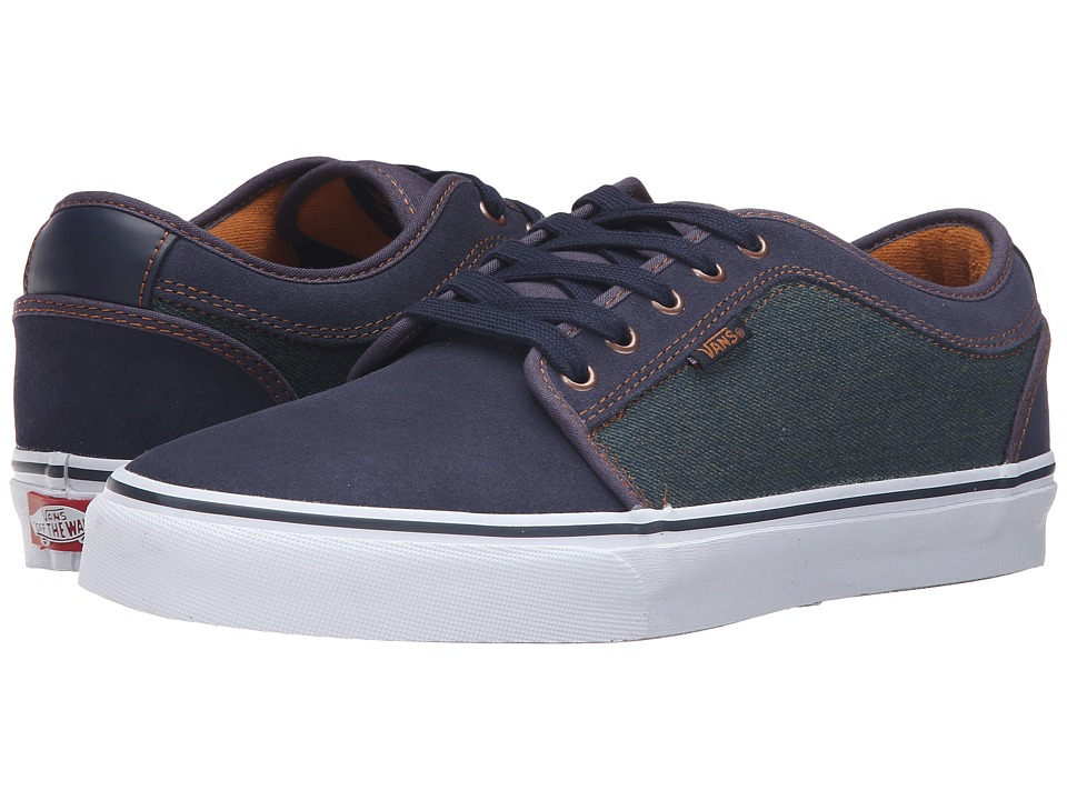 Vans - Chukka Low ((Denim) Navy/Bronze) Men