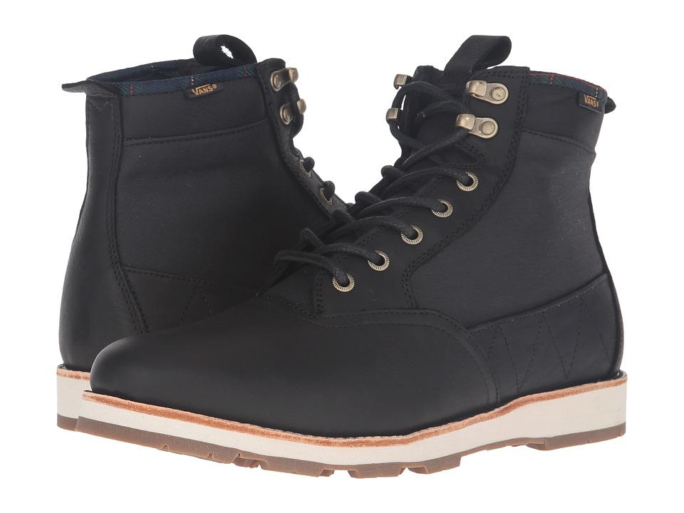 Vans Fairbanks Boot ((Nubuck/Plaid) Black) Men