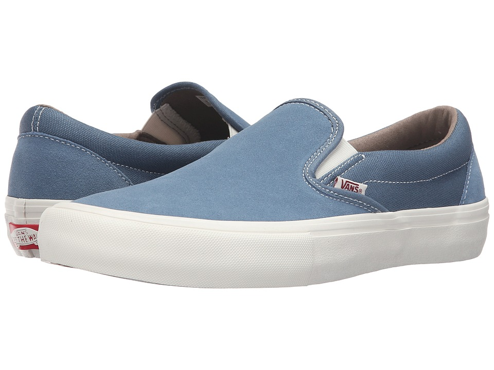 Vans - Slip-On Pro (Blue Mirage/Marshmallow) Mens Skate Shoes