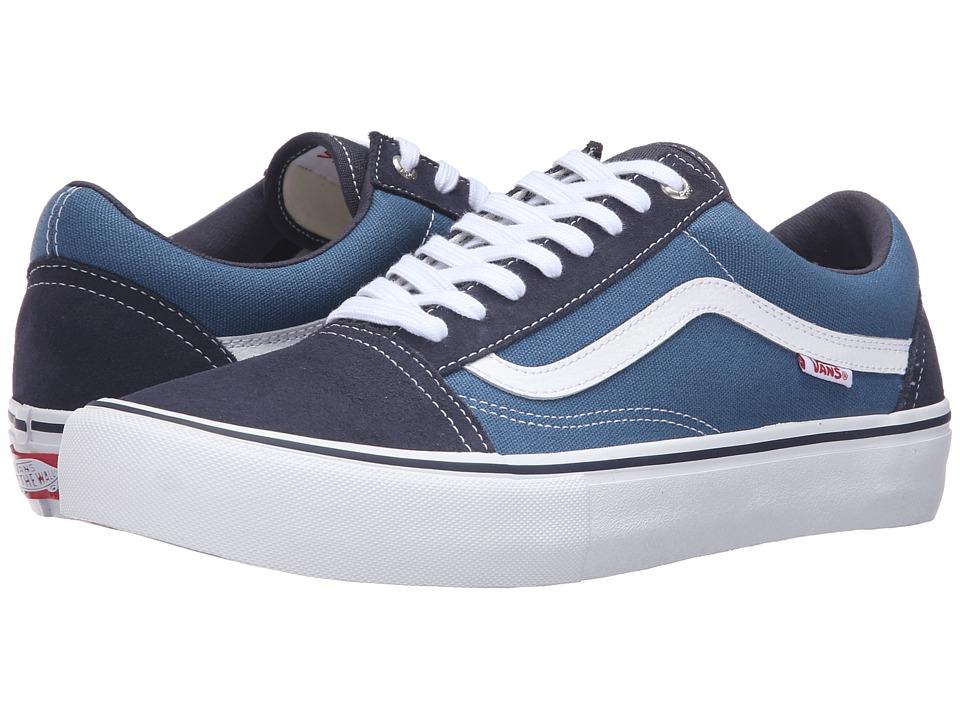 Vans - Old Skool Pro (Navy/Stv Navy/White) Mens Skate Shoes