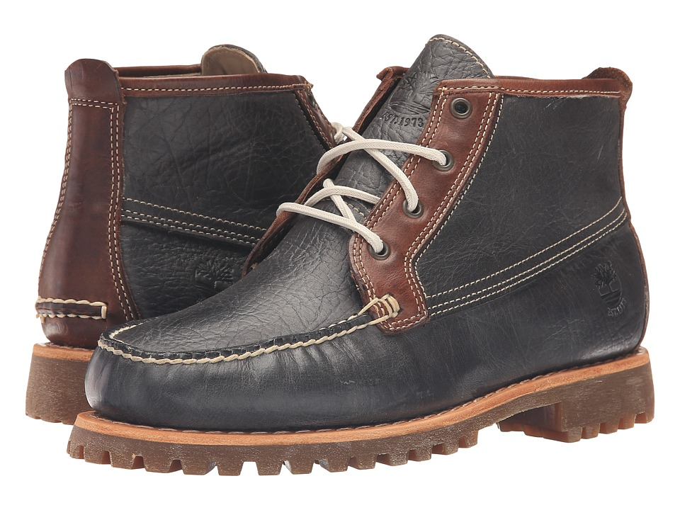 Timberland - Authentics Chukka (Dark Grey Full Grain) Men
