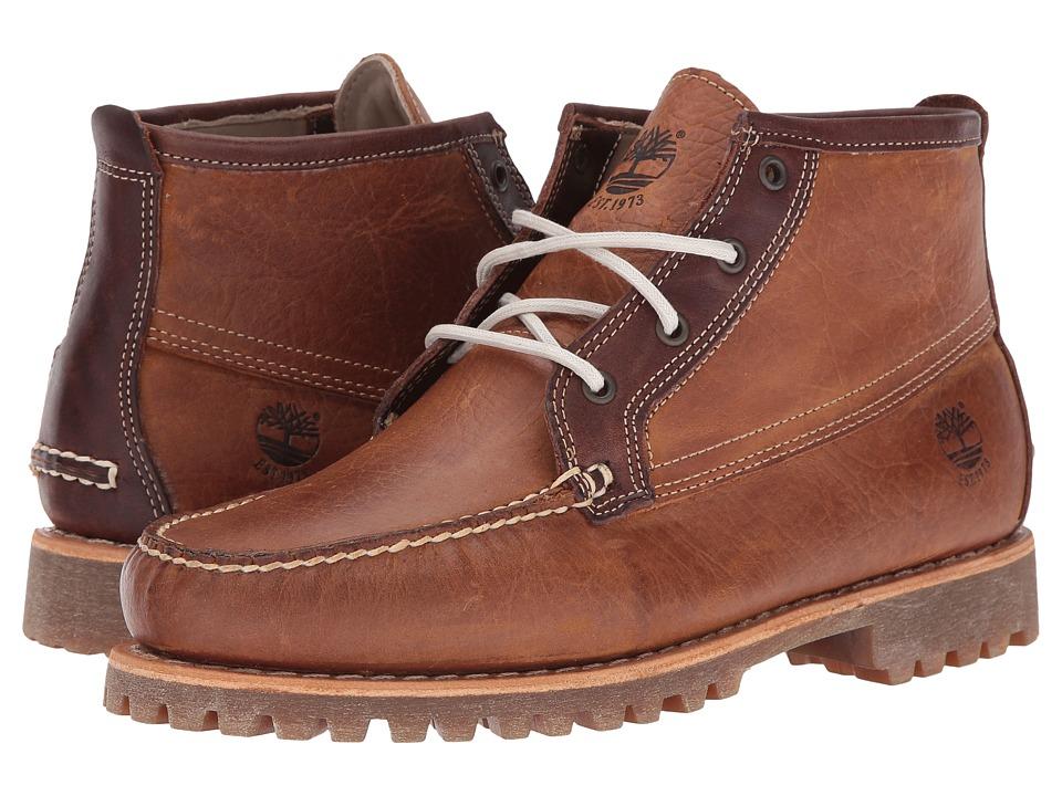 Timberland - Authentics Chukka (Medium Brown Full Grain) Men