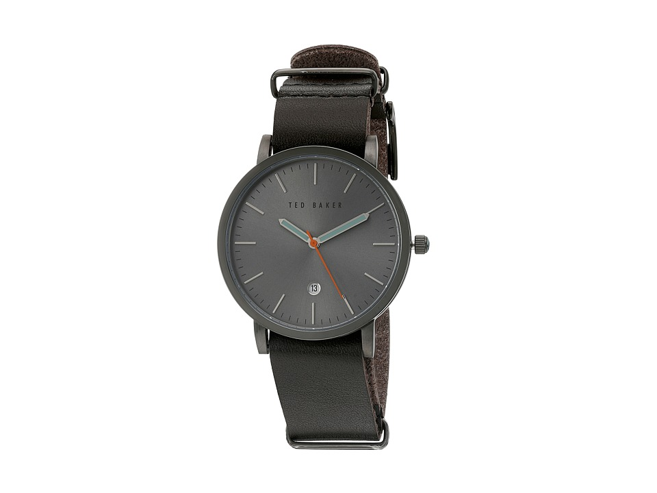 Ted Baker Dress Sport Collection 10026444 Gunmetal Grey Watches