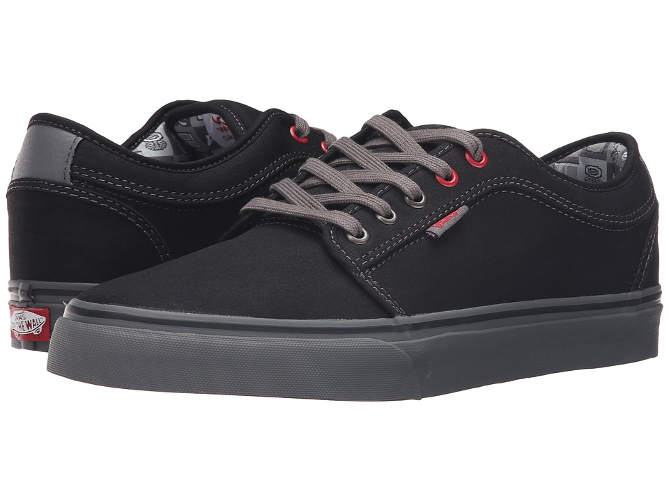 Vans - Chukka Low ((Nintendo Check) Black/Gray) Mens Skate Shoes