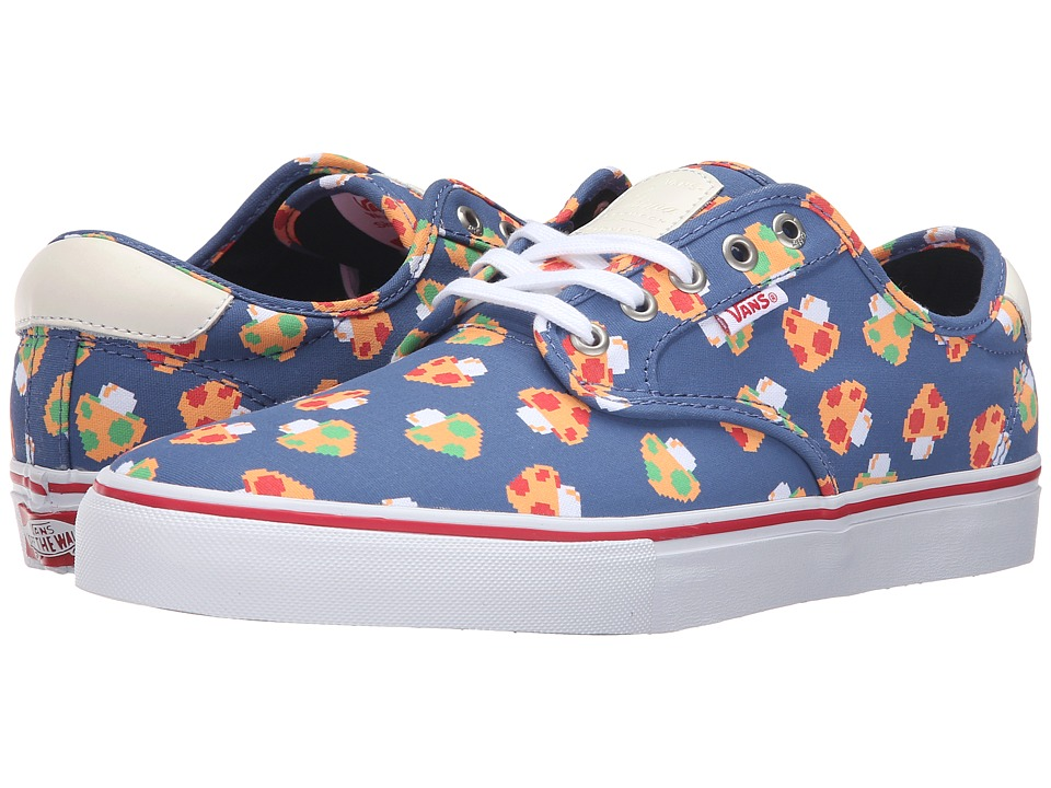 Vans - Chima Pro ((Mushrooms) Blue/White) Men