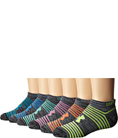 Under Armour - UA Essential Twist 2.0 6-Pack No Show (Big Kid)