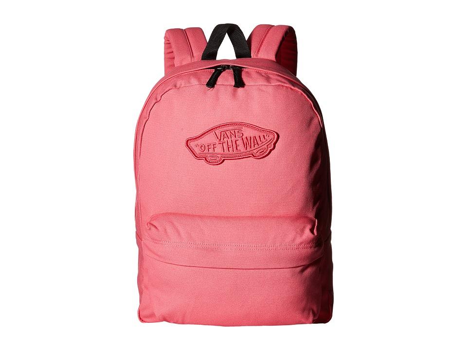 Vans - Realm Backpack (Camellia Rose) Backpack Bags