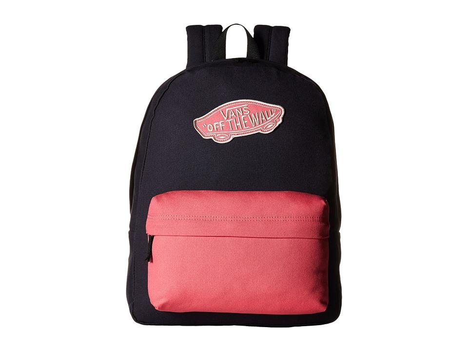 Vans - Realm Backpack (Parisian Night/Camellia Rose) Backpack Bags