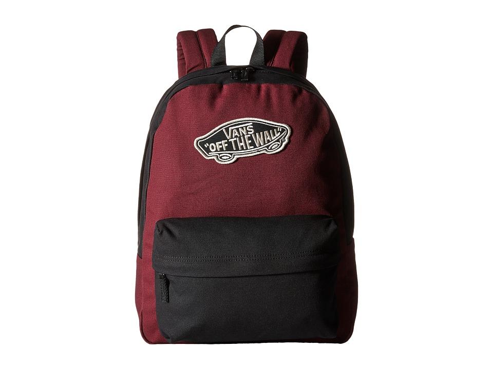 Vans - Realm Backpack (Black/Port Royale) Backpack Bags