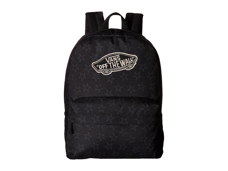 Vans - Realm Backpack (Star Dot Black) Backpack Bags
