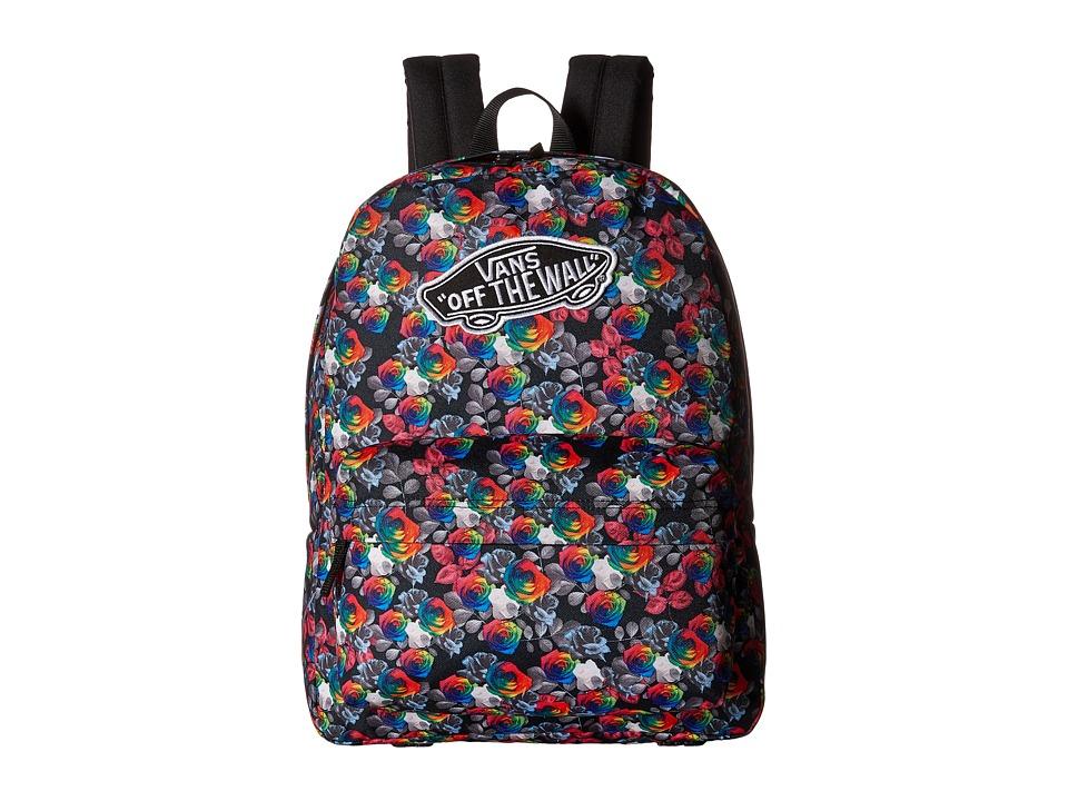 Vans - Realm Backpack (Rainbow Floral) Backpack Bags