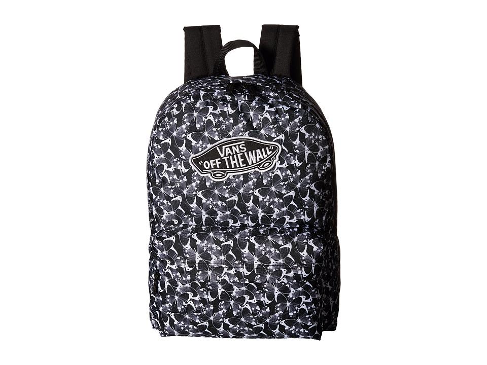 Vans - Realm Backpack (Butterfly Black) Backpack Bags