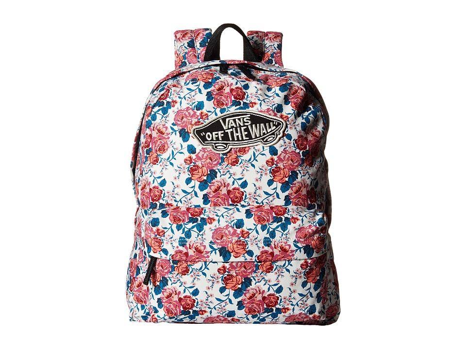 Vans - Leila Realm Backpack (Hana Floral) Backpack Bags