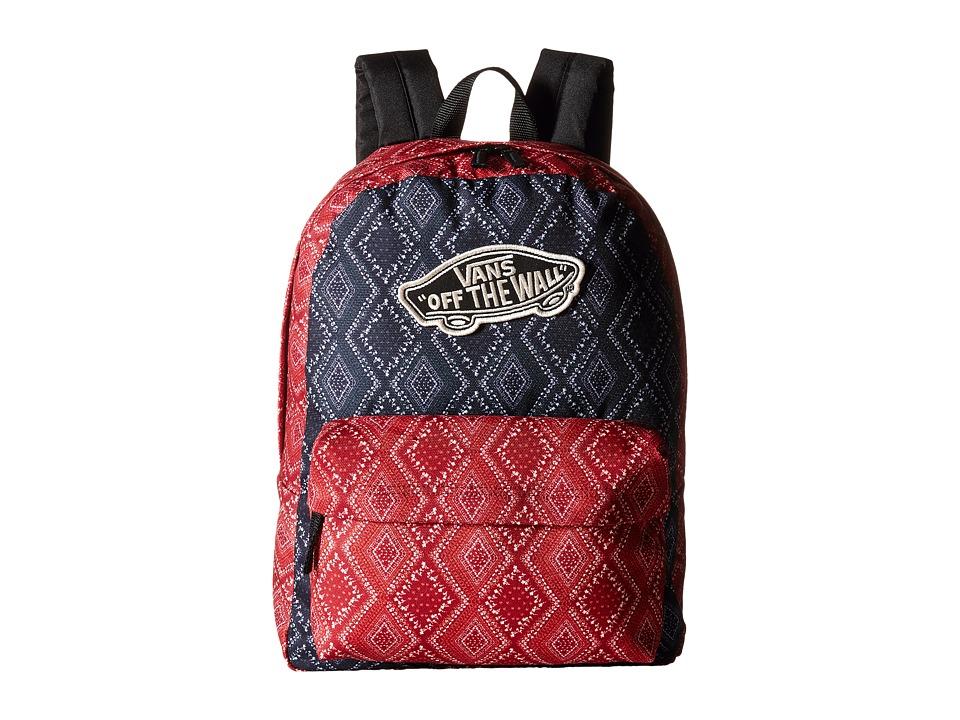 Vans - Realm Backpack (Bandana Chili Pepper) Backpack Bags