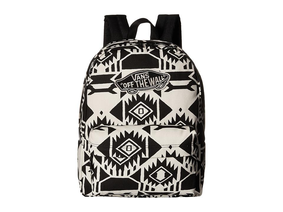 Vans - Realm Backpack (White Sand/Black) Backpack Bags