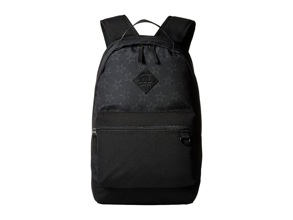 Vans - Tiburon Backpack (Star Dot Black) Backpack Bags
