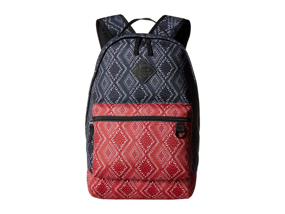Vans - Tiburon Backpack (Bandana Parisian Night) Backpack Bags