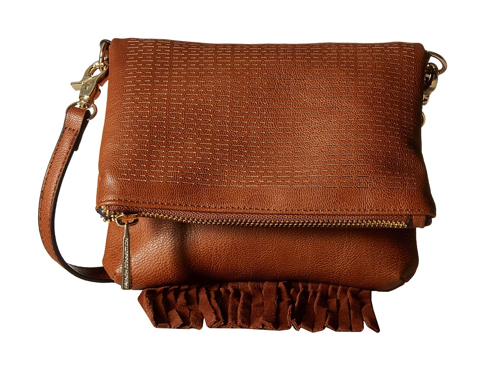 French Connection - Bailey Crossbody (Nutmeg) Cross Body Handbags