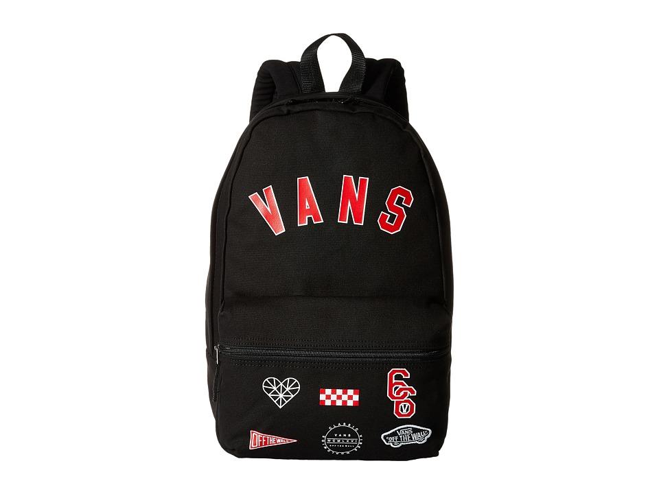 Vans - Calico Backpack (Black/Chili Pepper) Backpack Bags