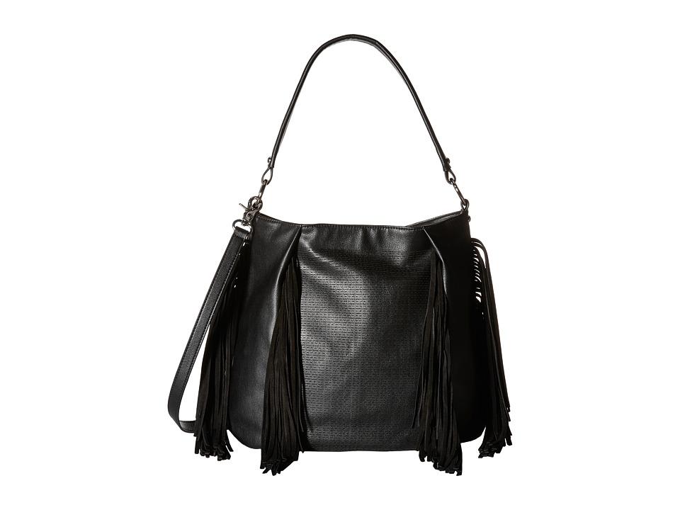 French Connection Bailey Hobo Black Hobo Handbags