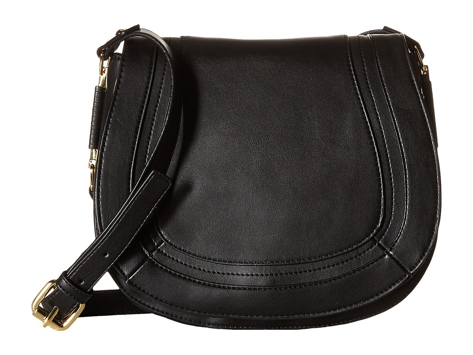 French Connection - Liza Large Crossbody (Black) Cross Body Handbags