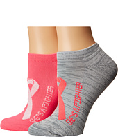 Under Armour - UA Power in Pink® 2.0 No Show 2-Pack