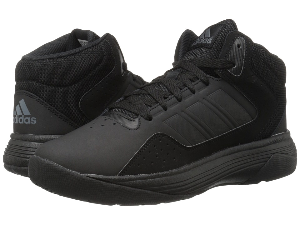 adidas - Cloudfoam Ilation Mid (Black/Onix) Mens Basketball Shoes