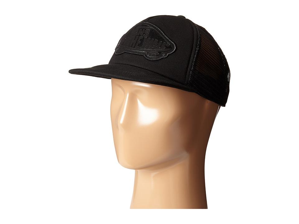 Vans - Beach Girl Trucker Hat (Onyx 2) Caps