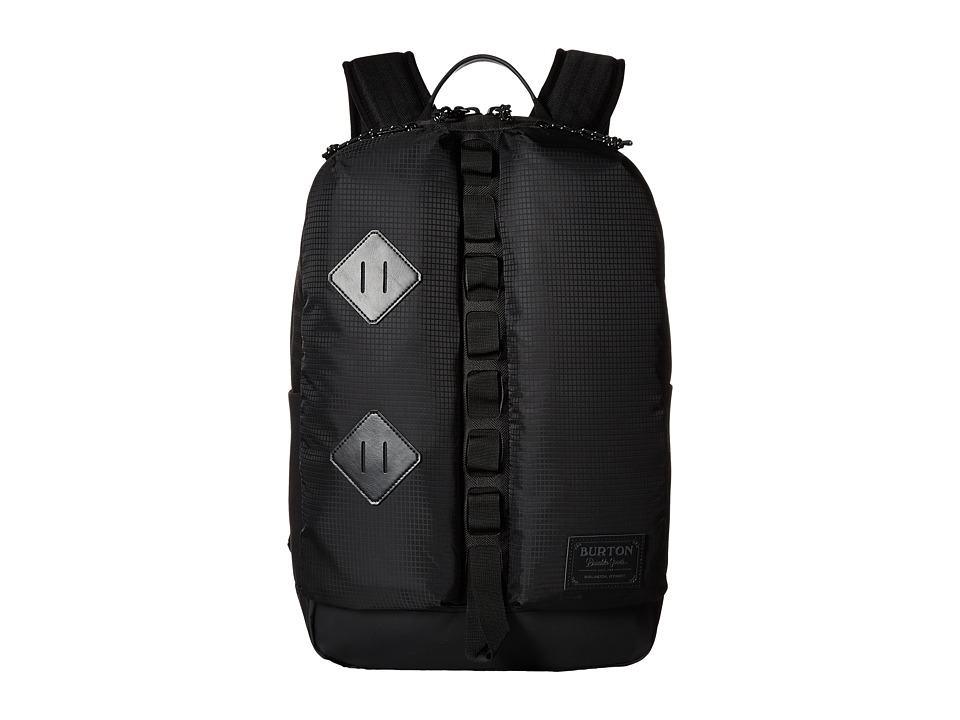 Burton - Homestead Pack (True Black Heather Twill) Day Pack Bags
