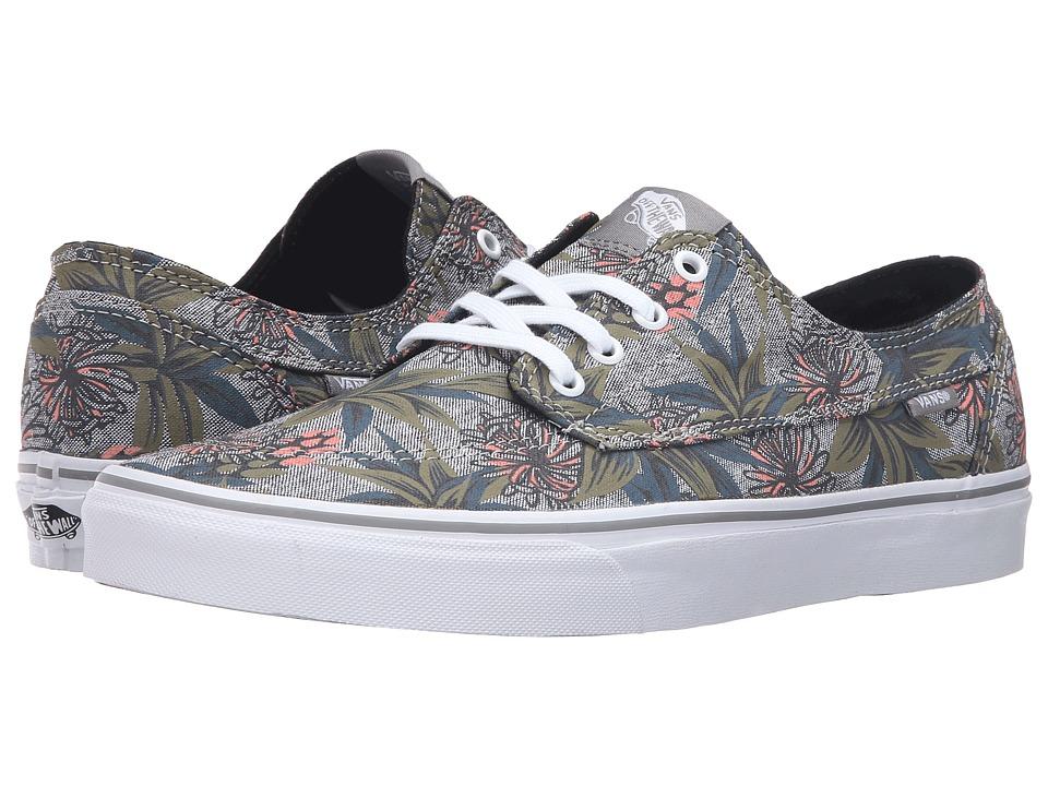 Vans Brigata ((Desert Aloha) Drizzle/Chambray) Skate Shoes