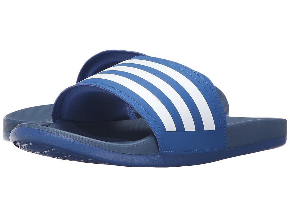 adidas Adilette Cloudfoam Ultra (EQT Blue/White) Men