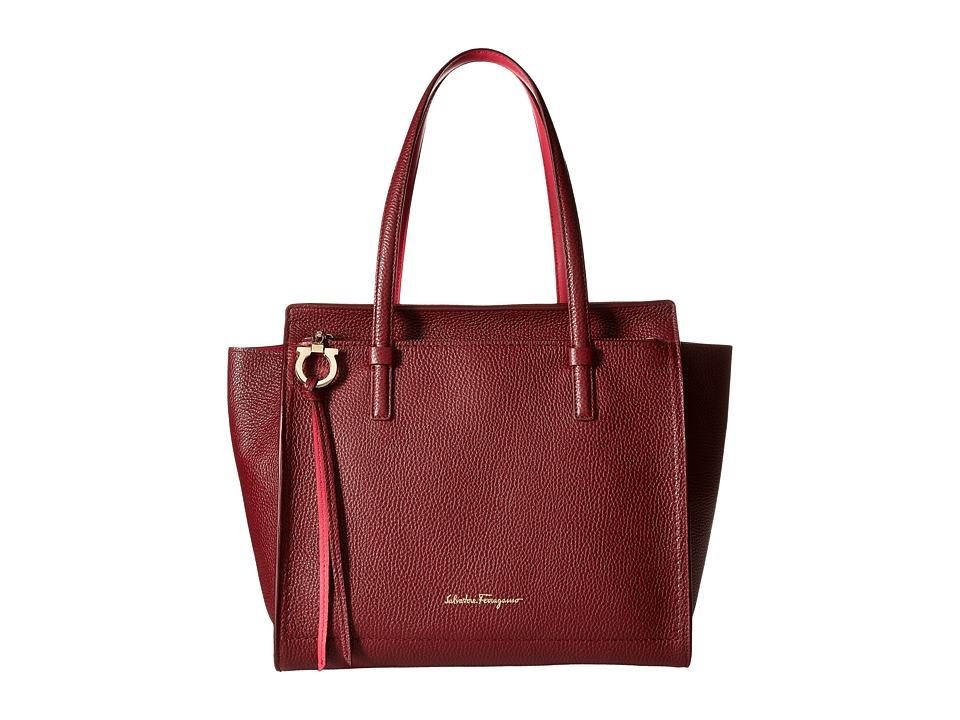 Salvatore Ferragamo - 21F216 Amy (Opera/Framboise/Framboise) Handbags
