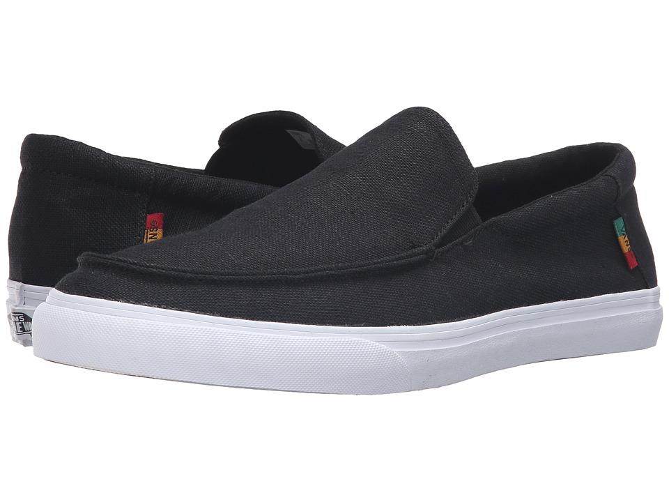 Vans Bali SF ((Hemp) Black/Rasta/White) Men