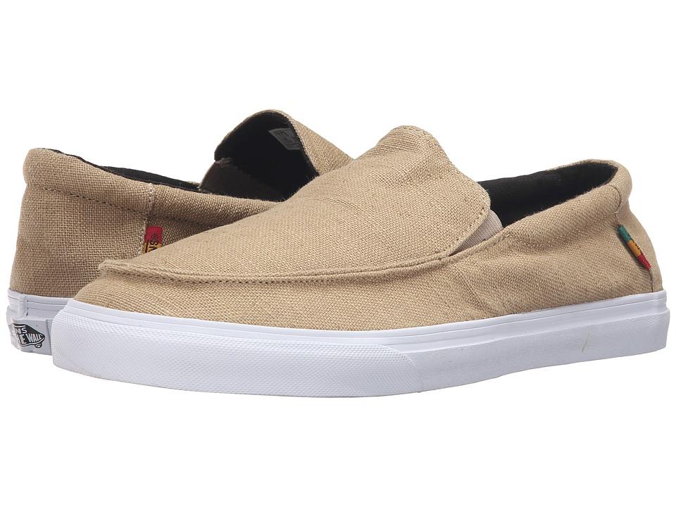 Vans Bali SF ((Hemp) Khaki/Rasta/White) Men