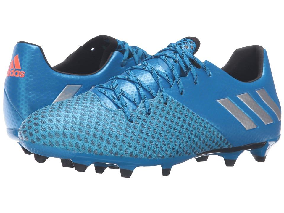 adidas - Messi 16.2 FG (Shock Blue/Matte Silver/Black) Men