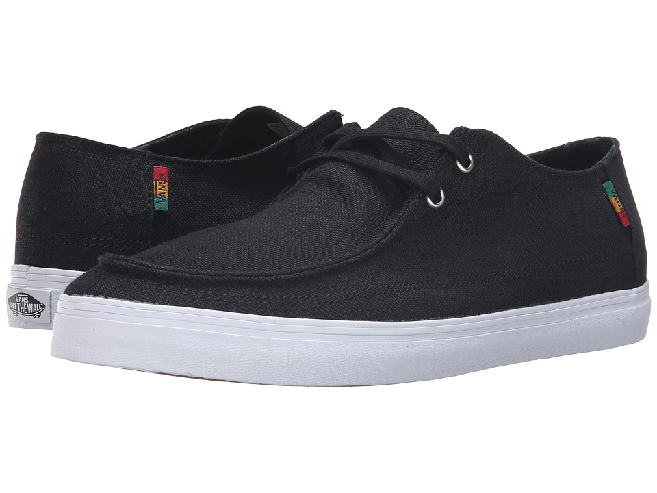 Vans Rata Vulc SF ((Hemp) Black/Rasta/White) Men