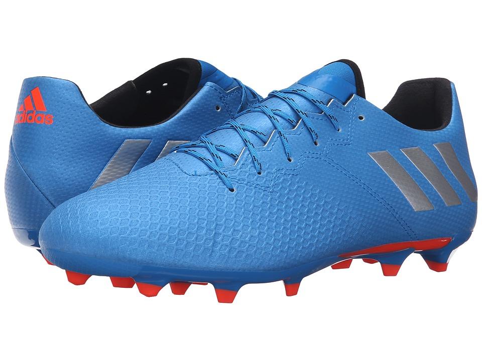 adidas - Messi 16.3 FG (Shock Blue/Matte Silver/Black) Men