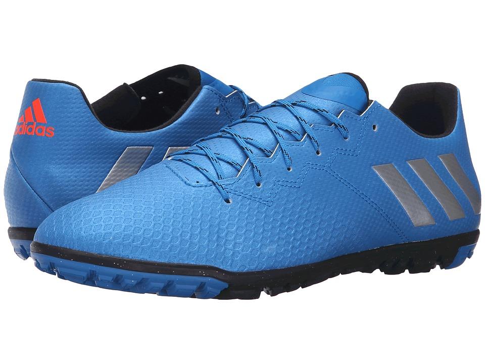 adidas - Messi 16.3 TF (Shock Blue/Matte Silver/Black) Men