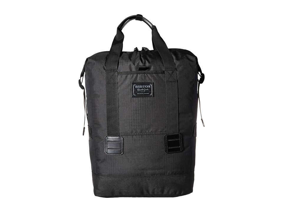 Burton - Tinder Tote (True Black) Tote Handbags